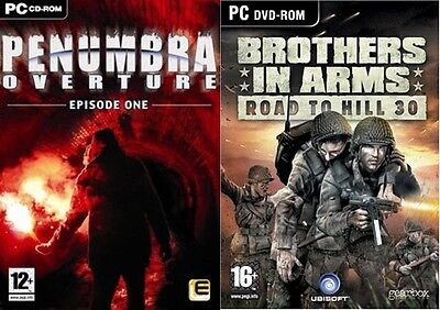 Penumbra Overture Episode One & brothers in arms road to hill 30    new&sealed