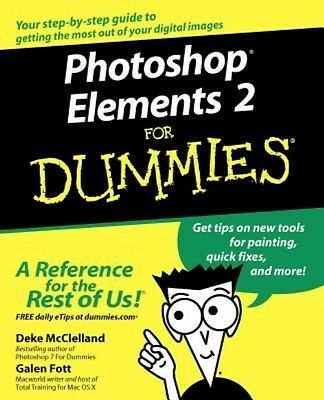 Photoshop Elements 2 for Dummies by Deke McClelland Paperback Book (English)