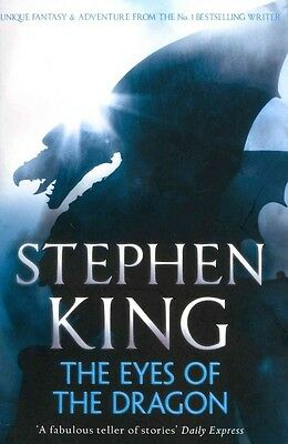 The Eyes of the Dragon by Stephen King Paperback Book (English)