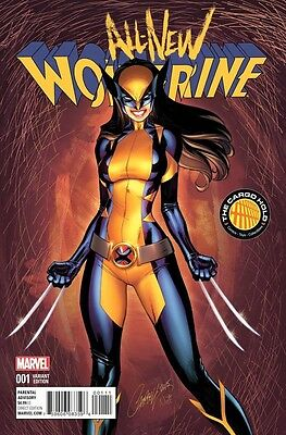 All New Wolverine #1 Tch J Scott Campbell Color Variant Nm Marvel 11/11/15