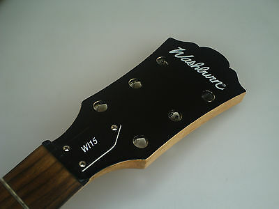 2009 Washburn WI-15 Les Paul LP Style Electric Guitar Neck 6219