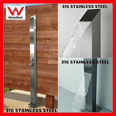 SALE! 316 MARINE GRADE Stainless Steel Outdoor Indoor Backyard Shower Panel