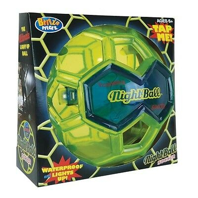 Britz n' Pieces Nightball Glow In The Dark Water Resistant Soccer BMA827