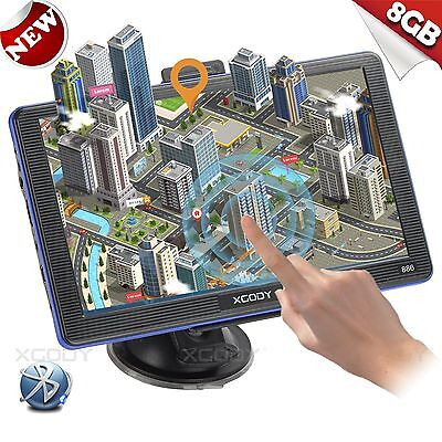 """XGODY 7"""" GPS Navigation for Car/Truck w/ Bluetooth AV-IN Capacitive Touch Screen"""