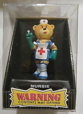 """Bad Taste Bears """"NURSIE"""" Novelty Collectible NIB Warning Contents May Offend"""