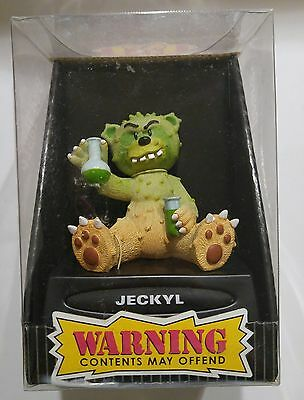 """Bad Taste Bears """"JECKYL"""" Novelty Collectible NIB Warning Contents May Offend"""