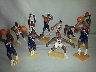 1996 Team USA Olympic Basketball Dream Team Figures (Lot of 10)