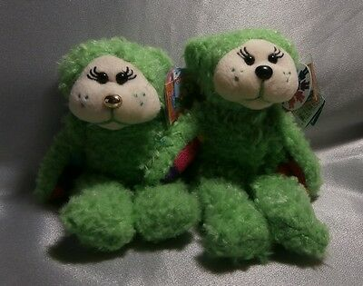 Skansen Beanie Kid Clover The Rainbow Bear Common & Gold Nose Mutation Mwmt