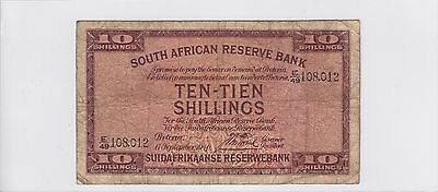 1940 (1928-47) South Africa 10 Shillings Pick 82D