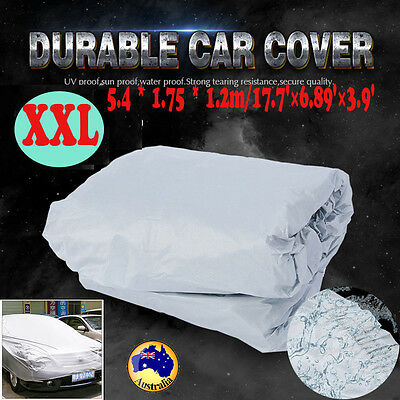 XXL Car Cover UV Resistance Anti Waterproof Scratch Dust Dirt Full Protection AU