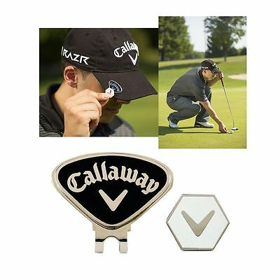 """ NEW 2017 "" Callaway Golf Magnetic CAP / Hat Clip & Ball Marker"