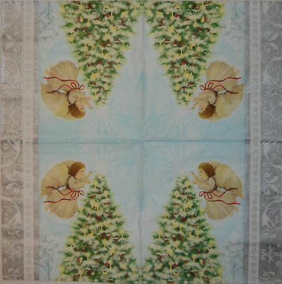 PAPER TABLE NAPKINS FOR CRAFT VINTAGE FLORAL WHITE DECOUPAGE TEA PARTIES 073