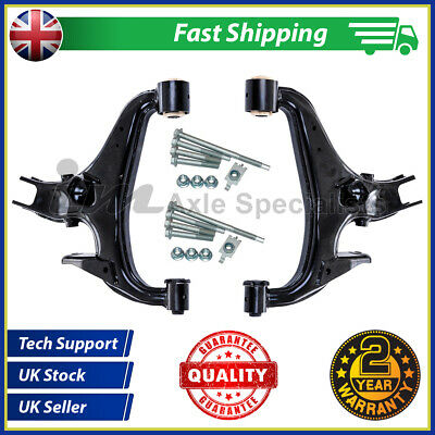 Land Rover Discovery 3 Rear Lower Right+Left Suspension Arms Kit + Fitting Kits