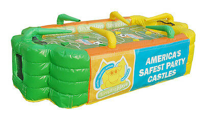 MASSIVE JUMPING CASTLE SALE - 2m x 1.5m - AIR TABLE FOOSBALL ** Activity** USED