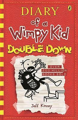 Diary of a Wimpy Kid 11: Double Down by Jeff Kinney Paperback Book