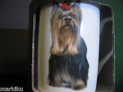 New Yorkshire Yorkie terrier Dog Best of Breed Drinking Cup tea coffee white Mug