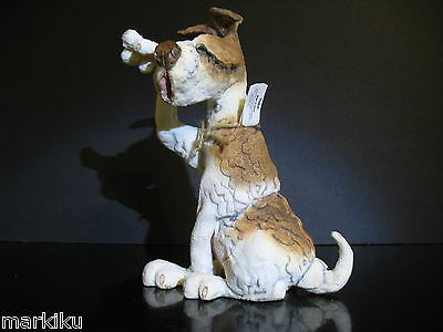 Rare Cute Rascal Dog Terrier Figurine CA05134 Country Artists A Breed Apart 2007