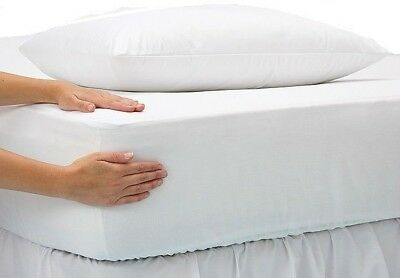 4 new white hospital health care jerseyknit fitted sheet36x80x12 + 4 pillow case