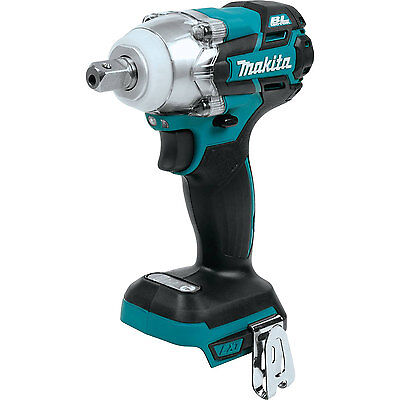 Makita XWT02Z 18-Volt LXT Brushless 3-Speed 1/2-inch Impact Wrench, Bare Tool