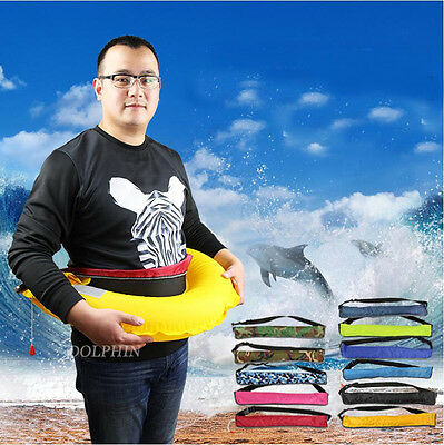 Adult Inflatable PFD Waist Belt Life Jacket Manual / Automatic