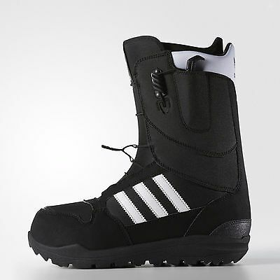 Adidas Originals Zx 500 Black Snowboard Boots Shoes Snow Ski Us 9.5 10