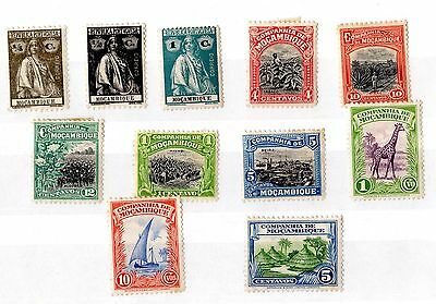 Mozambique Collection of 11 Mint X3959