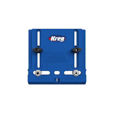 """KREG Tool Company KHI-PULL Cabinet Hardware Jig w. Two Movable 3/16"""" Guides"""