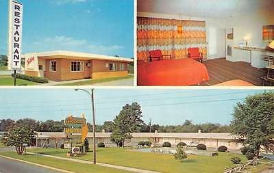 Bamberg South Carolina Holiday Motel Multiview Vintage Postcard K42256