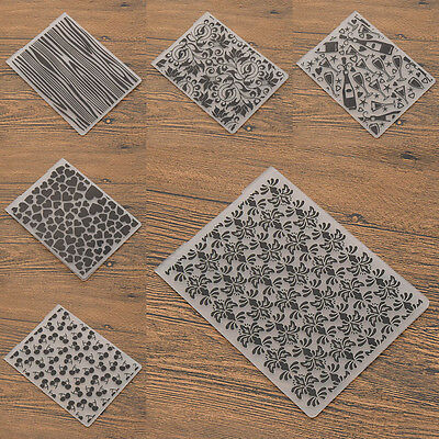 Plastic Embossing Folder DIY Scrapbook Template Paper Craft Decor Tool Heart