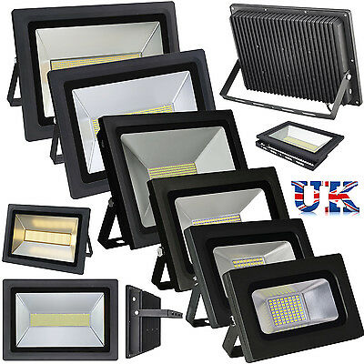 200W 150W 100W 60W 30W 15W LED Flood Light IP65 Outdoor Wall Lamp Spotlights UK
