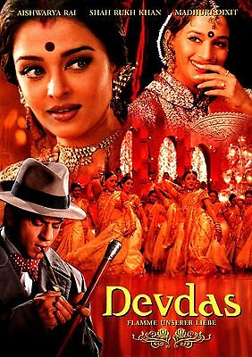 Home Wall Art Print - Vintage Movie Bollywood Poster - DEVDAS - A4,A3,A2,A1