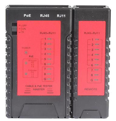 Tenma - 72-2950 - Network Cable Tester With Poe