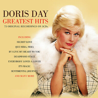 Doris Day GREATEST HITS Best Of 75 Original Recordings ESSENTIAL New Sealed 3 CD