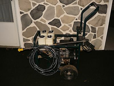 Sears Craftsman High Pressure Washer Cleaning System With Manual