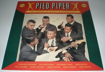 Northern Soul Lp Pied Piper - Pinnacle Of Detroit Various Artists Kent New Mint