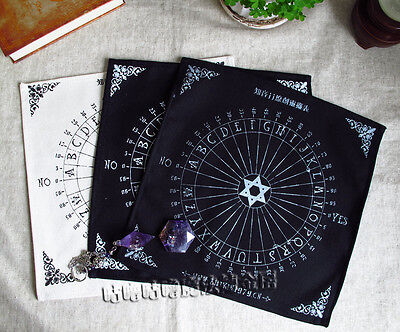 1 PC Magic PENTACLE Runes Tarot Wiccan Pagan Paganism Table Cloth Altar Wicca