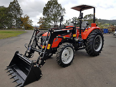 New 70hp Tractor 4WD with FEL and 4 in 1 Bucket. Christmas Special Limited Stock