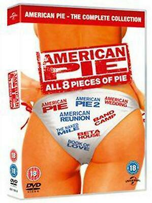 American Pie: All 8 Pieces of Pie - DVD Region 2 Free Shipping!