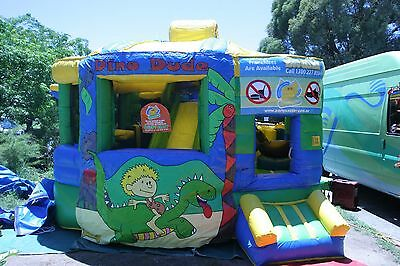 MASSIVE JUMPING CASTLE SALE - 4mx4m Fun Factory ** Commercial * USED