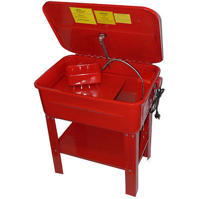 20 Gallon Parts Washer On Stand 240V Electric Pump