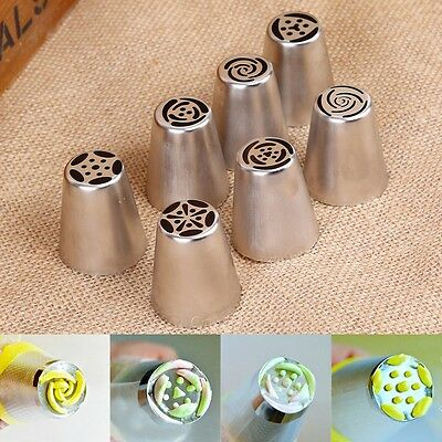 1 Set Icing Piping Nozzles Cake Decorating