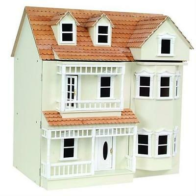 Exmouth Ready To Assemble 1:12 Scale Dolls House Kit Unpainted