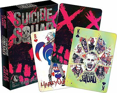 DC Comics Suicide Squad set of 52 playing cards (+ jokers) (nm 52426)