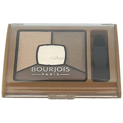 Bourjois Quad Smoky Stories Eyeshado Palette 06 Upside Brown