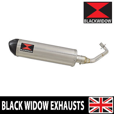 Piaggio FLY 125cc 2005 - 2011 Stainless Steel Exhaust System Silencer 400ST