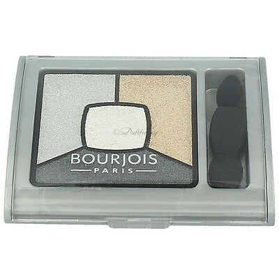 Bourjois Quad Smoky Stories Eyeshadow Palette 09 Greyzy In Love