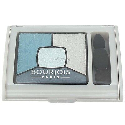 Bourjois Quad Smoky Stories Eyeshadow Palette 11 Blue Issant