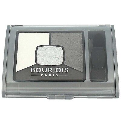 Bourjois Quad Smoky Stories Eyeshadow Palette 01 Grey & Night