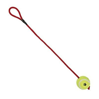 Trixie Tennisball am Seil - 6 cm / 50 cm