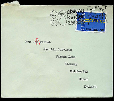 Netherlands 1971 Cover To UK #C37763